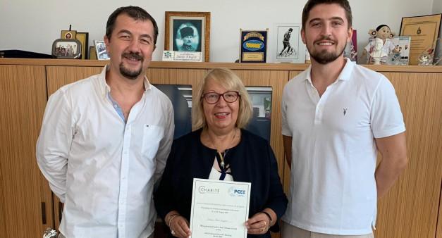Pedodonti Anabilim Dalımızın Association for Dental Education in Europe (ADEE) Kongresi Ödülü